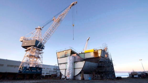 Quebec Premier Philippe Couillard says it is an injustice that Ottawa isn't giving more public contracts to the Davie shipyard near Quebec City.