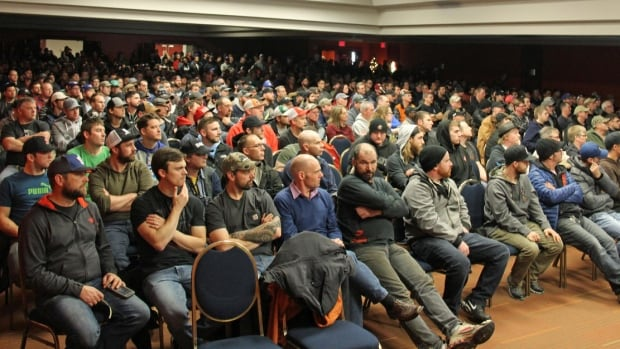 The union says about 88 per cent of Local 1 workers attended the Sunday afternoon meeting in Halifax.