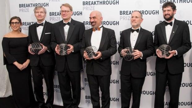 Awarding ceremony of 2018 Breakthrough Prize held in San Francisco