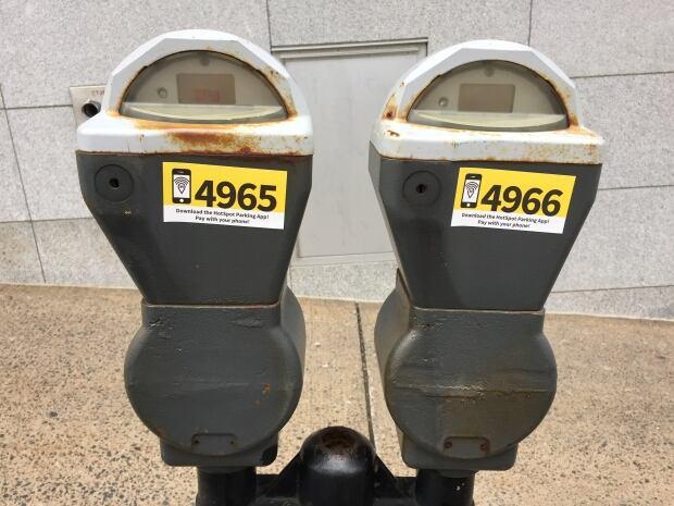 Parking meter app Halifax