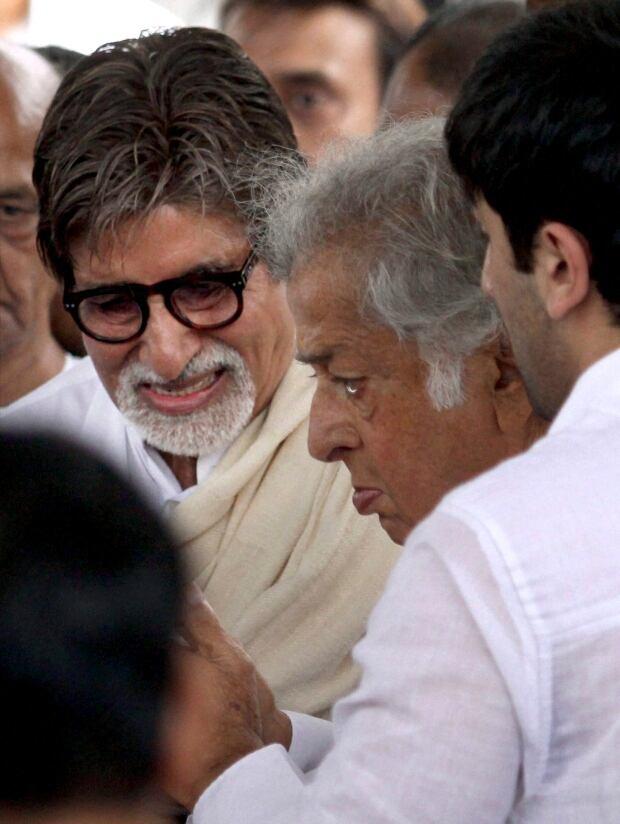 India Shammi Kapoor Funeral
