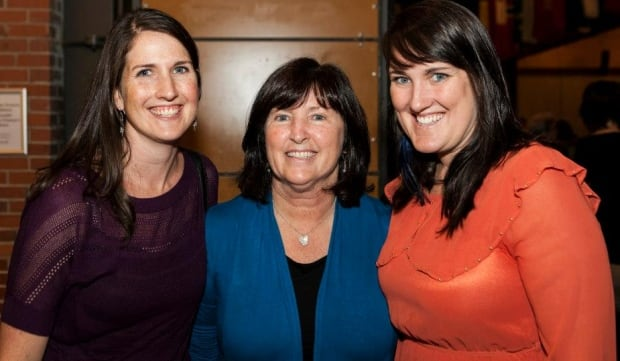 Mary Coyle and daughters
