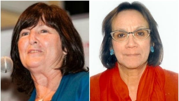 Mary Coyle, left, will be appointed to the Senate representing Nova Scotia and Dr. Mary Jane McCallum, right, will represent Manitoba.