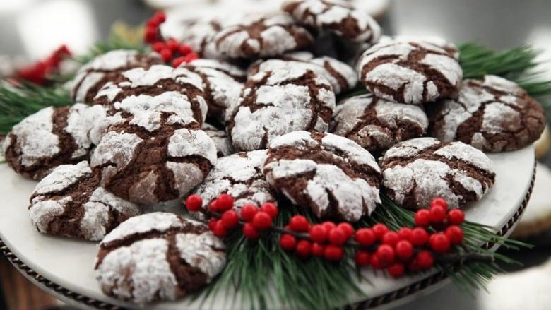 Recipe Spiced Chocolate Crinkle Cookies
