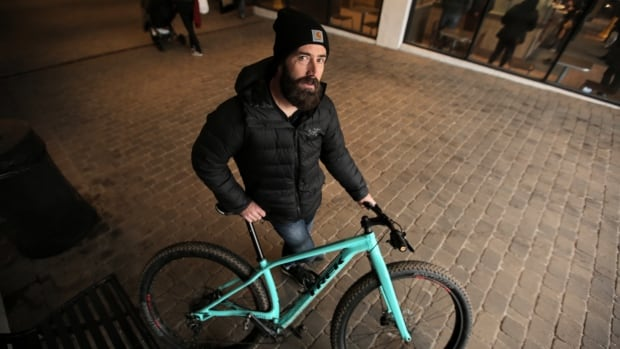 Warren Hull, who has been mountain biking for more than 20 years, bought the bicycle he affectionately calls Tiffany, a plus model Trek Stache, to use as his winter ride on the trails of Durham Forest about an hour northeast of Toronto.