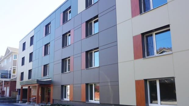 The first multi-residential passive-house apartment building in Canada was completed just last year. Karen's Place in Ottawa is a four-storey a building with 42 bachelor apartments.