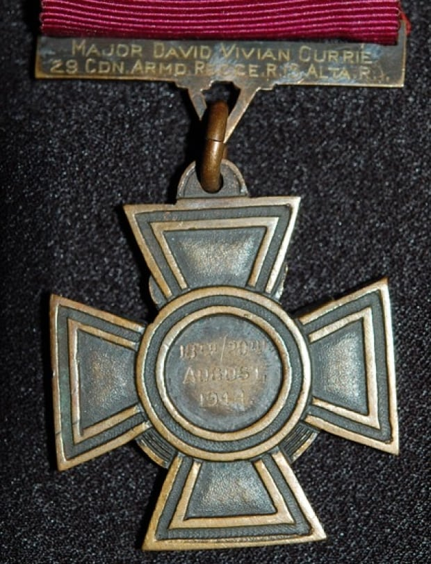 Lt-Col David Currie, Victoria Cross