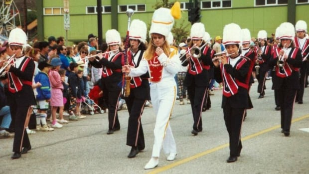 Clark White is looking for more photos and videos of the high school band from Trail, B.C., performing in parades.