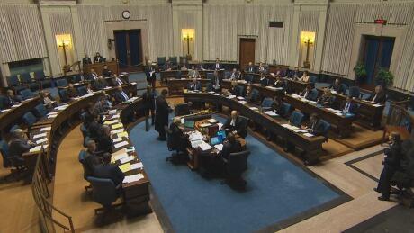 Manitoba Legislature question period