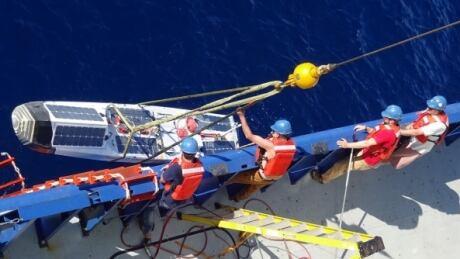 Sailbot Ada recovered