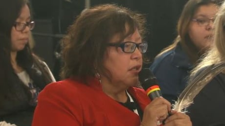 Mitaanjigamiing First Nation Chief Janice Henderson