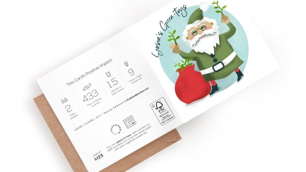Good Card Co. aims to produce greeting cards in a way that is sustainable.