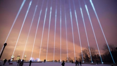 Annual École Polytechnique memorial to light up Montreal sky in honour of 14 victims