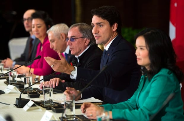 Trudeau China 20171205