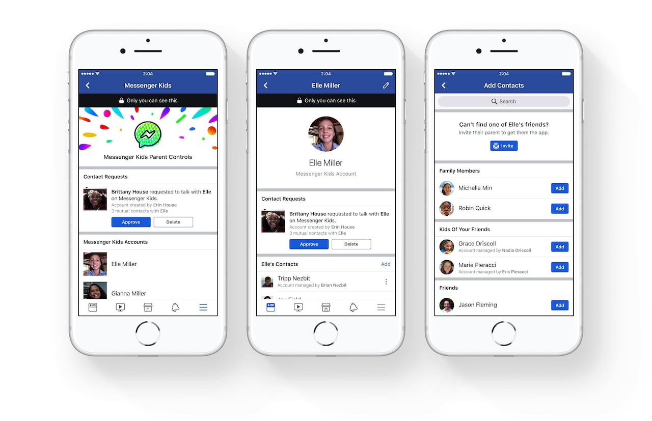 What parents need to know about Facebook's new messenger app for