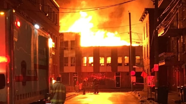 Trois-Rivieres fire