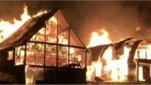 Mount Washington B.C., 3 homes destroyed in fire Feb. 19, 2015