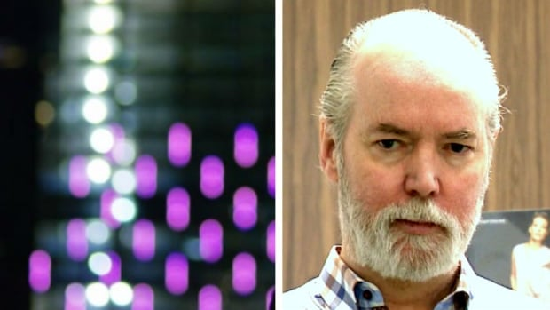 Renowned artist and author Douglas Coupland hopes to create a 'gorgeous' homage to the northern lights on the side of the Telus Sky building, a 60-storey tower being built in downtown Calgary.