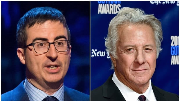 Last Night Tonight host John Oliver confronted Dustin Hoffman about allegations of sexual harassment during a 20th-anniversary screening panel for the latter's film Wag the Dog in New York Monday night.