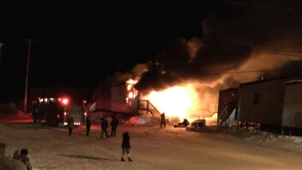A fire broke out in a home early Thursday morning in Coral Harbour, Nunavut. Residents came to the rescue after calls to the fire department went unanswered.