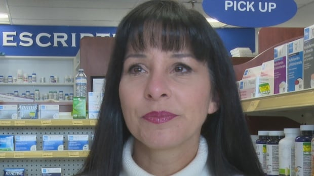 Marilyn Adamo, who co-owns Lifestyle Pharmacy with her husband Peter, tells CBC News about the night in October when their business was robbed.