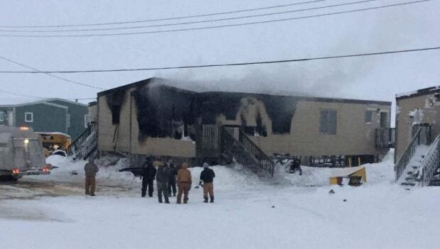 coral harbour fire