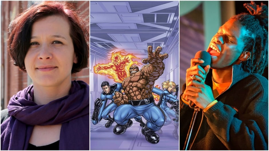 Today on q: author Katherena Vermette, comic book editor Jeff Yang and musician Daniel Caesar.