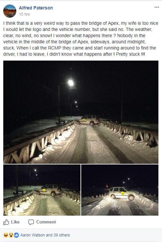 city of iqaluit vehicle apex bridge