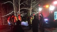 Vernon Search and Rescue Cherryville embankment crash