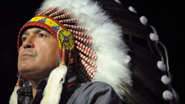 Assembly of First Nations National Chief Perry Bellegarde is running for re-election, touting the progress he's made on a number of files with the federal Liberal government.