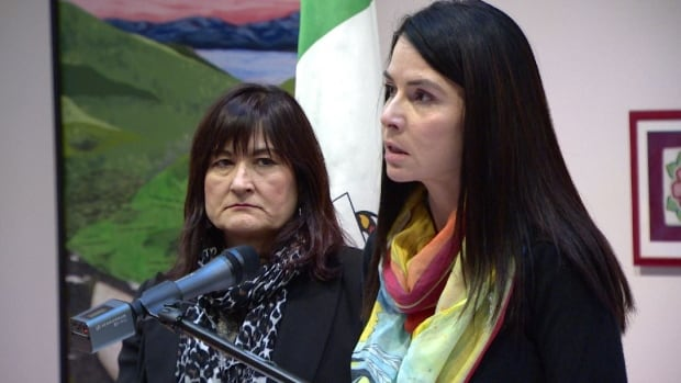 Jeanie Dendys, minister responsible for the Women's Directorate (right) hopes a new approach will encourage victims to come forward. 'When victims feel safe, informed and supported, there is a greater chance they will disclose sexualized violence,' she said.