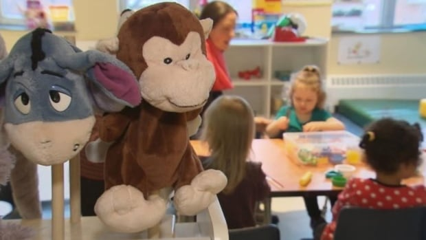 The new child-care spaces were announced Monday.