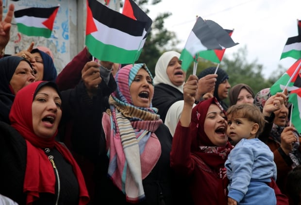 Palestinians Trump Jerusalem