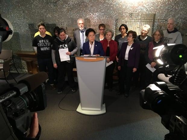 Toronto Kristyn Wong-Tam News Conference