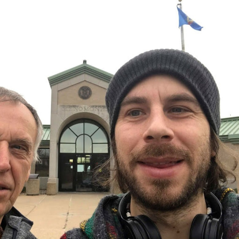 Peter Pawlik Right And Father George Pause To Take A Selfie On Their Journey Austria Where Will Undergo Surgery Receive Bonebridge Hearing