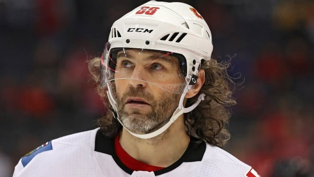 Flames winger Jaromir Jagr will miss his 11th game of the season Wednesday night against the Maple Leafs in Toronto with a lower-body injury.