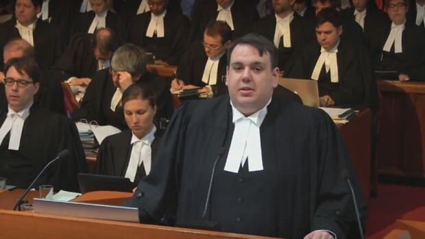 John MacLean, lawyer for Nunavut attorney general