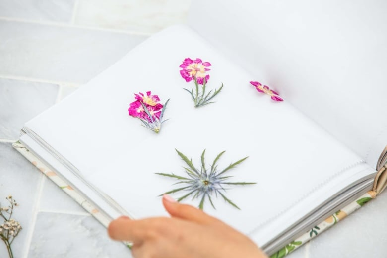 Give wilting blooms new life by turning them into the prettiest place the flowers and wax paper inside your hardcover book place something heavy on top to weigh it down such as a paperweight or vase nowwait 4 weeks mightylinksfo