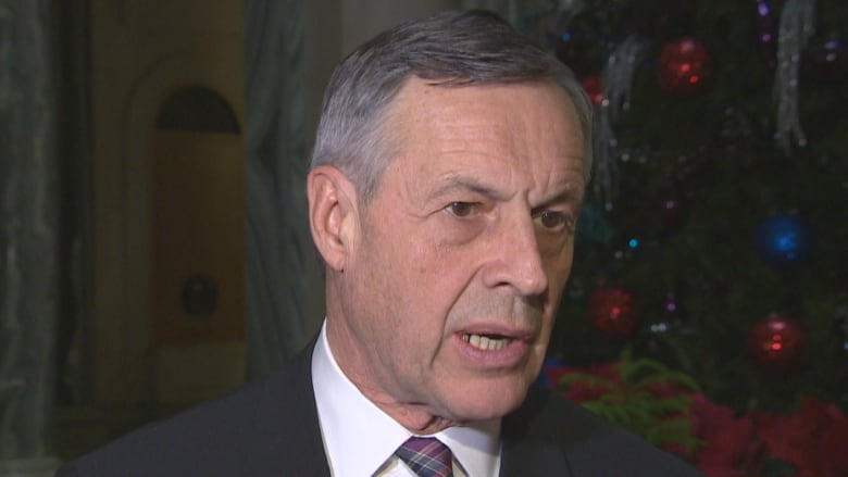 Justice Minister Don Morgan