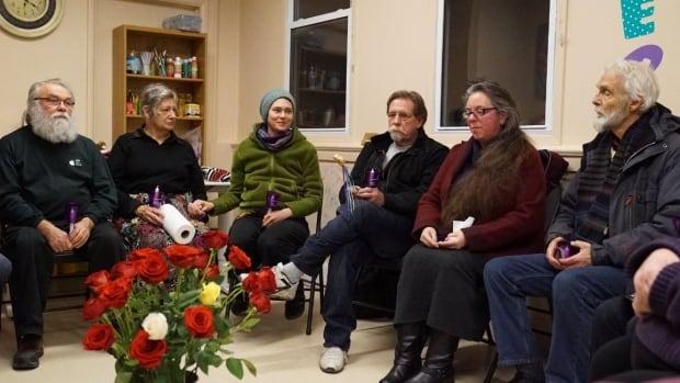Eganville vigil group dec. 6, 2017