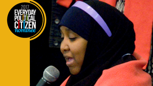 Zeinab Mohamed is one of the finalists for Samara Canada's Everyday Political Citizen award.