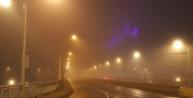 fog granville bridge