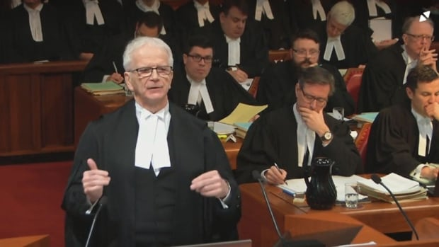 Ian Blue, Gerard Comeau's lawyer