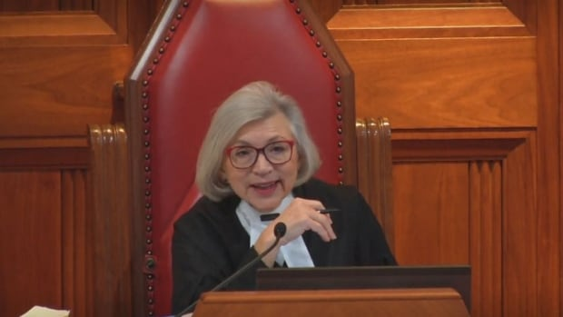 Chief Supreme Court Justice Beverley McLachlin