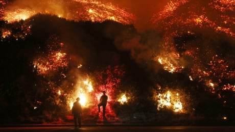 California wildfires Firefighters monitor Thomas Fire