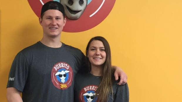 Nick Walsh and Erika Usher decided a restaurant franchise would make it possible for them to stay in Cape Breton.