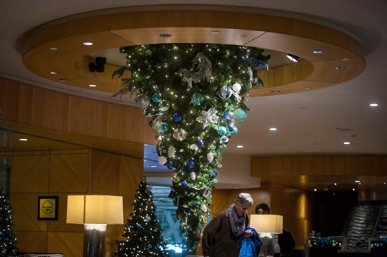 Inverted Christmas Trees Dizzying Trend Has Ancient Roots Cbc News