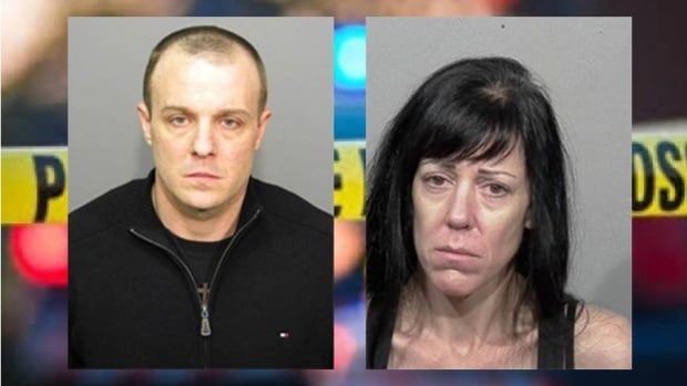 Montreal police have issued an arrest warrant for Kristian Robitaille (left) and  Sophie Tardif Loiselle.