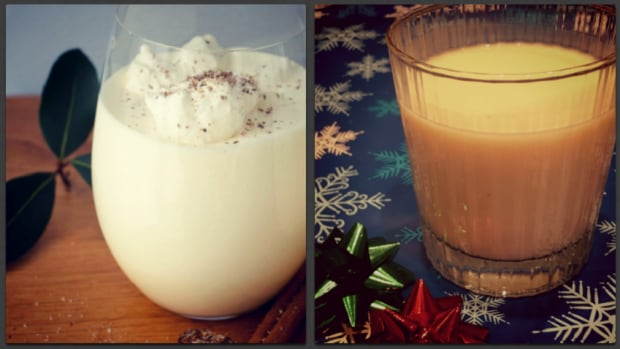 Egg Nog Commercial versus Home-Made