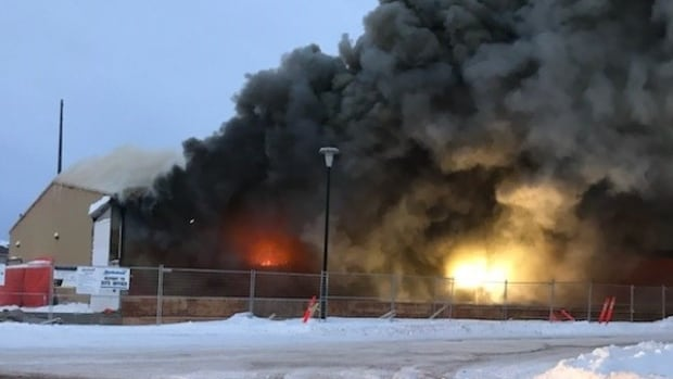 The Gillam Recreation Centre was gutted by a fire on Dec. 6.